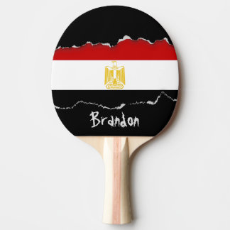 Classic Flag of Egypt Ping Pong Paddle