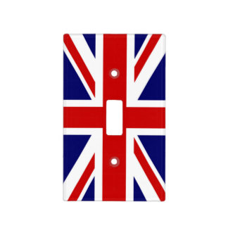 Classic Flag of the United Kingdom Light Switch Cover