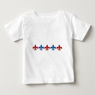 Classic Fleur De Lis Baby T-Shirt