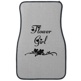Classic Flower Girl Car Mat