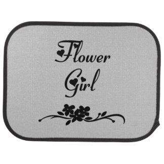 Classic Flower Girl Floor Mat