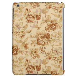 Classic Flower Pattern Glossy Ipad Case