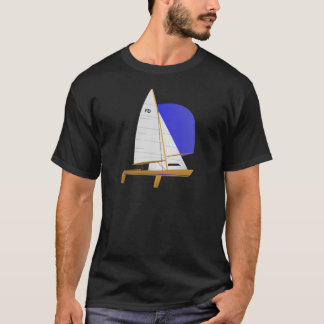 Classic Flying Dutchman Sailboat T-Shirt