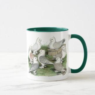 Classic Frill Pigeons Mug