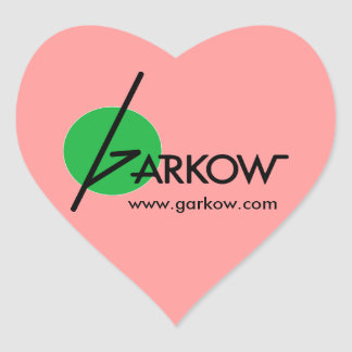 Classic Garkow Heart Sticker