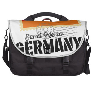 Classic Germany Flag Send Me to Bag For Laptop