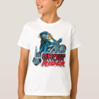 Classic Ghost Rider Riding Motorcycle T-Shirt