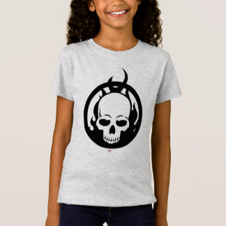 Classic Ghost Rider Skull Icon T-Shirt
