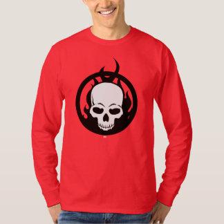 Classic Ghost Rider Skull Icon T-Shirt