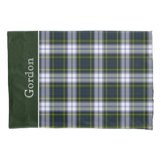 Classic Gordon Dress Tartan Plaid Pillow Case Pillowcase