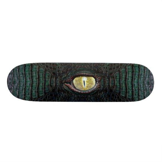 Classic Green Alligator Pro Board #2 Custom Skateboard