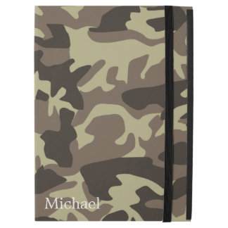 Classic Green Camouflage Camo Military Monogram