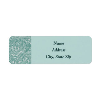 Classic Green Marble Address Labels