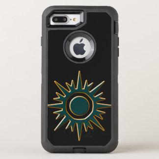 Classic Green Sunburst OtterBox Defender iPhone 8 Plus/7 Plus Case