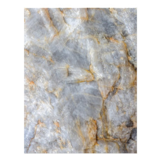 Classic Grey Quartz Crystal Letterhead