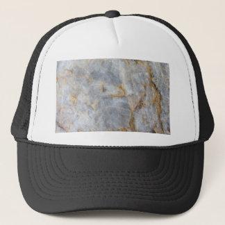 Classic Grey Quartz Crystal Trucker Hat