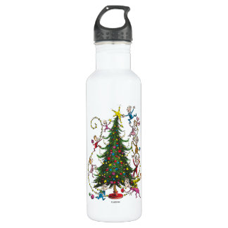 Classic Grinch | Christmas Tree 710 Ml Water Bottle
