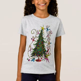 Classic Grinch | Christmas Tree T-Shirt