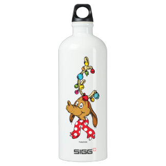 Classic Grinch | Max - Happy Wholidays Water Bottle
