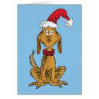 Classic Grinch | Max - Santa Hat Card