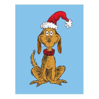 Classic Grinch | Max - Santa Hat Postcard