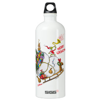 Classic Grinch | Merry Grinchmas! Water Bottle