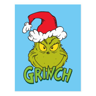 Classic Grinch | Naughty or Nice Postcard