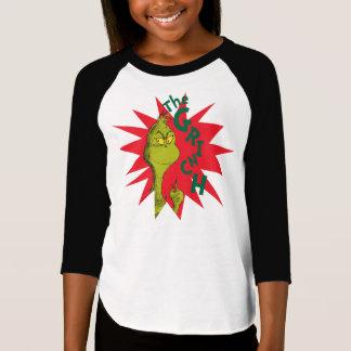 Classic Grinch | Red Starburst T-Shirt