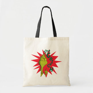Classic Grinch   Red Starburst Tote Bag