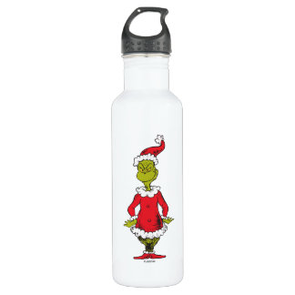 Classic Grinch | Santa Claus 710 Ml Water Bottle