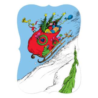 Classic Grinch | The Grinch & Max Runaway Sleigh Card