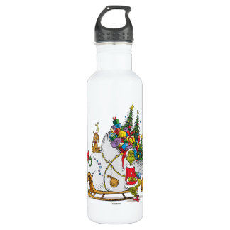 Classic Grinch | The Grinch & Max with Sleigh 710 Ml Water Bottle