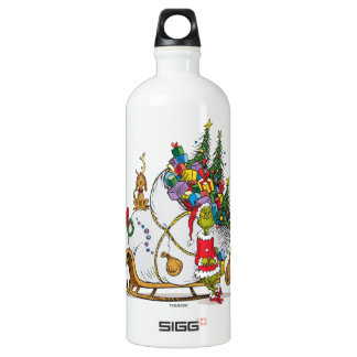 Classic Grinch | The Grinch & Max with Sleigh Water Bottle