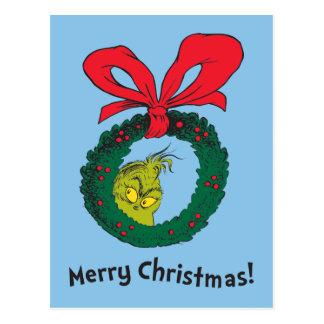 Classic Grinch | Wreath Postcard