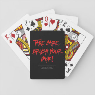 Classic Hair Today, Gone Tomorrow Playing Cards