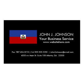 Classic Haitian Flag Business Card