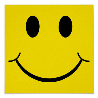 Classic Happy Face Poster