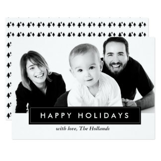 Classic Happy Holidays Cards | CHRISTMAS