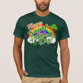 Classic Happy Saint Patrick's Day T-Shirt