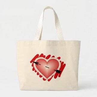 Classic Heart and Arrow Jumbo Tote Bag