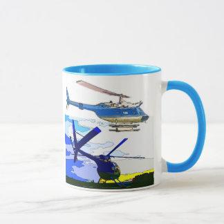 Classic helicopters mug