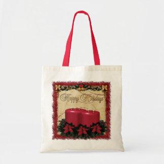 Classic Holiday Deco Christmas GIFT Tote Bag