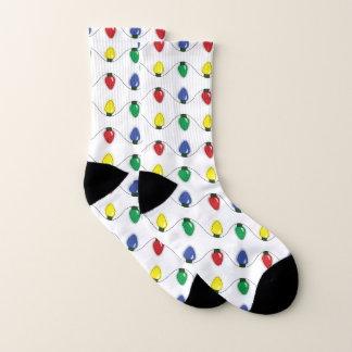 Classic Holiday Lights Socks 1
