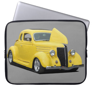Classic Hot-Rod Car Laptop Sleeve