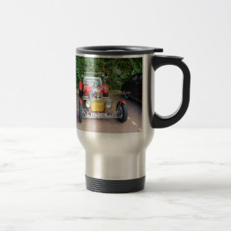 Classic Hot Rod Roadster 15 Oz Stainless Steel Travel Mug