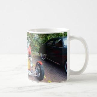 Classic Hot Rod Roadster Basic White Mug
