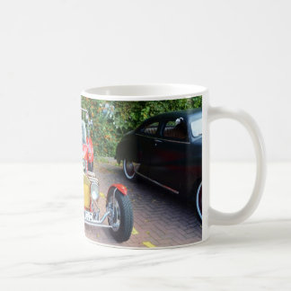 Classic Hot Rod Roadster Classic White Coffee Mug