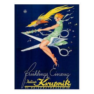 Classic Illustration Postcard