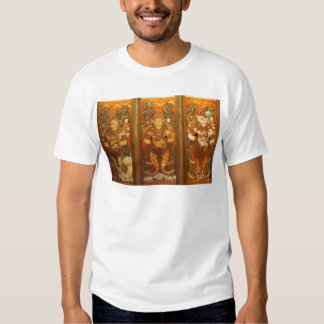 CLASSIC INDIAN VINTAGE MURALS TEE SHIRTS