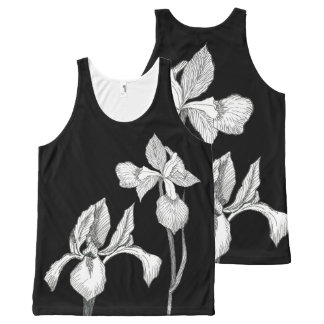 Classic Iris All-Over-Print Tank Top